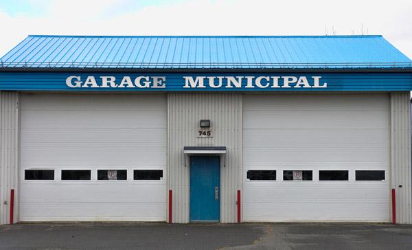 Garage municipal